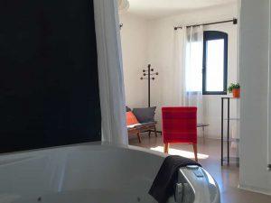 Chambre d'hôtes Cocoon, jacuzzi privatif, Metafort, Luberon en Provence