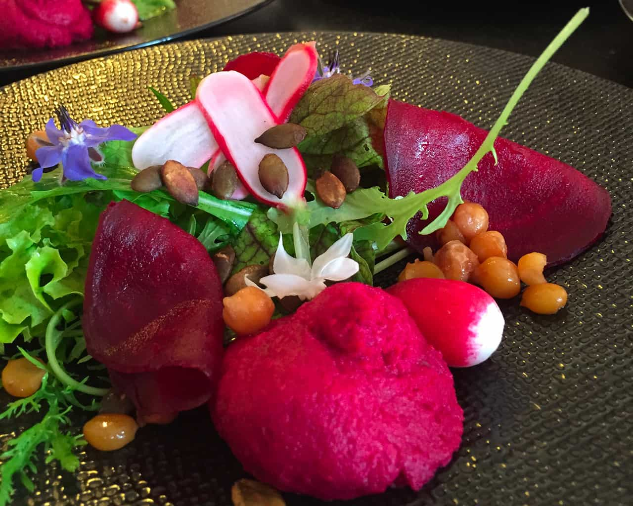 Cuisine de qualité faite maison à la table d'hôtes du Metafort dans le Luberon en Provence