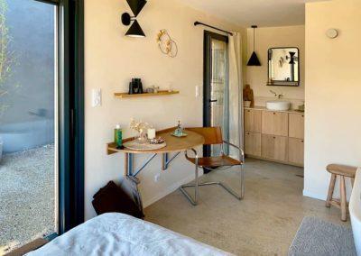 Metafort, gîte L'Annesque vue intérieure 2 | Chambre d'hôte luberon Provence,