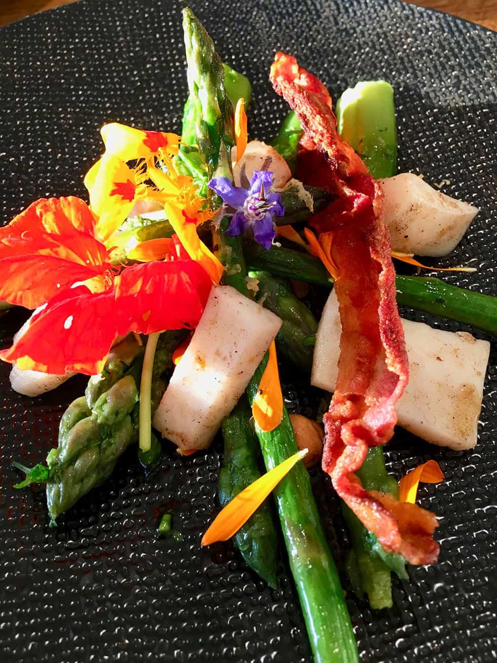 Cuisine gastronomique au Metafort en Luberon