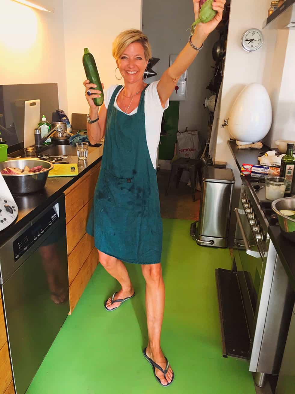 Isa, hotesse de votre chambre d'hôtes en Luberon Provence