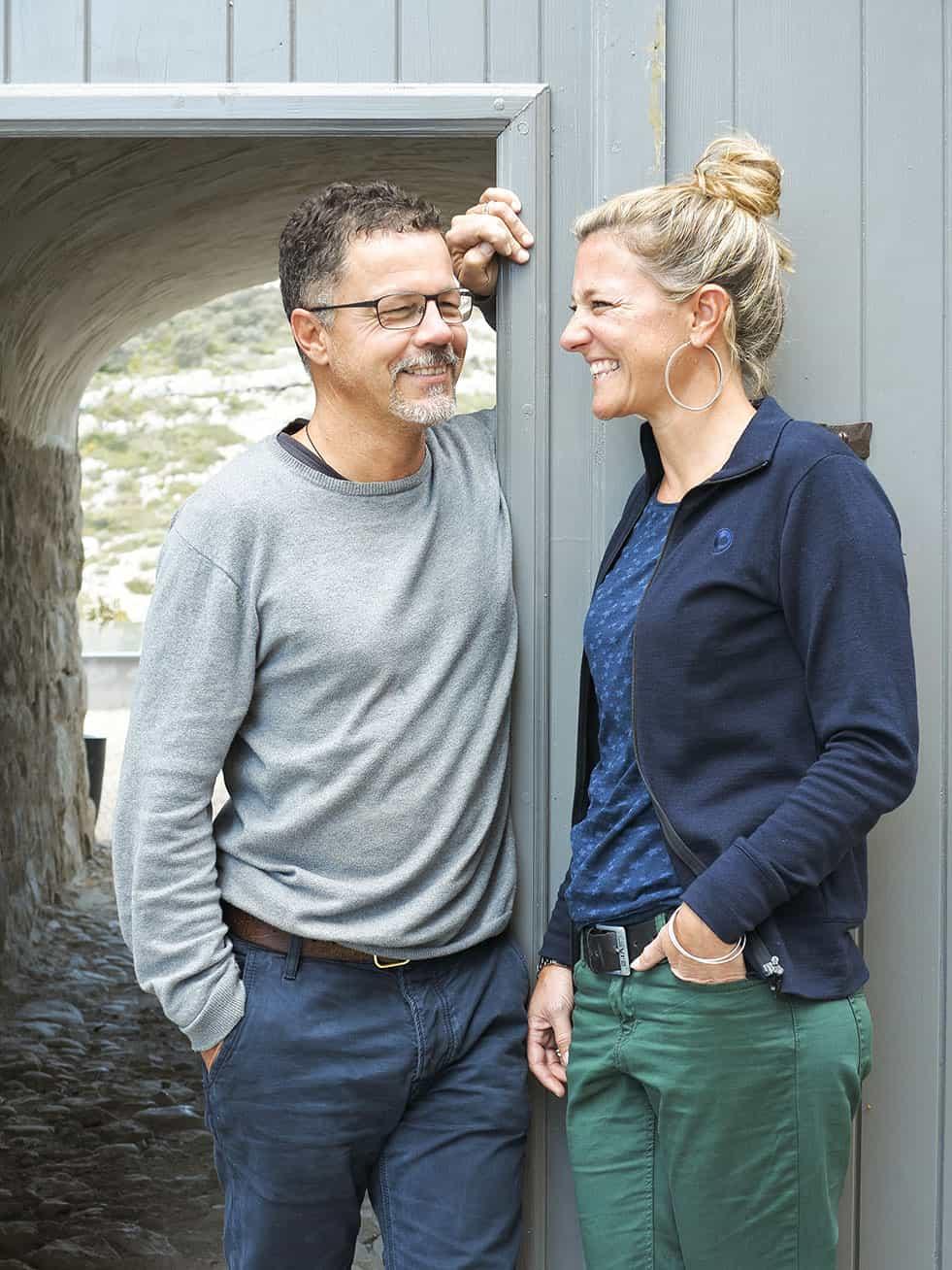 Isa et Philippe, vos hôtes au Metafort Provence