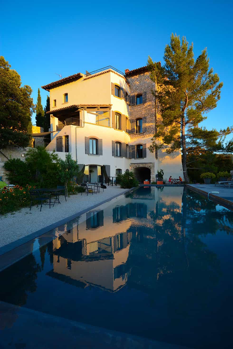 Maison d'hôtes avec piscine, Metafort en Luberon Provence